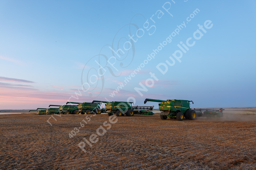 Agricultural and commerical farm photography near Kindersly, Saskatchewan. Photos of industrial farm equipment including tractors, combines, grain bins, grain carts, barns, bins, personnel, and more.<br /> <br /> On-location commercial advertising photography for use on a new company website as well as for annual reports, investor presentations, project proposals, internal and external marketing, and for use on social media accounts.<br /> <br /> ©2019, Sean Phillips<br /> http://www.RiverwoodPhotography.com