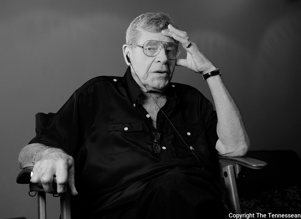 """Jerry Lewis is directing a musical version of his 1963 hit movie """"The Nutty Professor""""at TPAC Tuesday July 10, 2012 in Nashville, TN."""