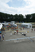 Amsterdam. NETHERLANDS.  General Views of crews rigging their boat after arriving at the venue, for the 2014 FISA  World Rowing. Championships.  De Bosbaan Rowing Course . 15:57:55  Wednesday  20/08/2014  [Mandatory Credit; Peter Spurrier/Intersport-images]
