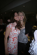 Jessica de Rothschild and Kim Hersov, Ellsworth Kelly exhibition opening. Serpentine Gallery and afterwards at the River Cafe. London. 17 March 2006. ONE TIME USE ONLY - DO NOT ARCHIVE  © Copyright Photograph by Dafydd Jones 66 Stockwell Park Rd. London SW9 0DA Tel 020 7733 0108 www.dafjones.com