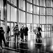 Entry hall interior glazing, Valencia, Spain (December 2006)
