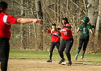 St Pauls School varsity Softball.  Karen Bobotas Photographer