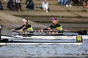 Crew: 61 - Raymond / Weir - Team Keane Sculling School - W Junior 2x <br /> <br /> Pairs Head 2020