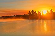 Sunrise on Kakabikitchewan Lake<br />Near Nestor Falls<br />Ontario<br />Canada