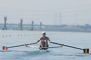 2005, World Rowing Championships, Nagaragawa International Regatta Course, Gifu, JAPAN: Monday  29.08.2005. ESP LW1X Teresa Mas de Xaxares Rivero.  © Peter Spurrier/Intersport Images - email images@intersport-images.com
