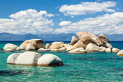 """""""Whale Rock, Lake Tahoe 2"""" - Photograph of the famous Whale Rock on the East Shore of Lake Tahoe."""