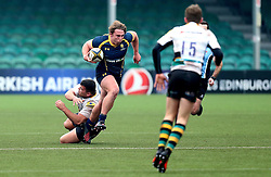 George Butler (Hereford Cathedral School) of Worcester Warriors U18 runs with the ball - Mandatory by-line: Robbie Stephenson/JMP - 22/01/2017 - RUGBY - Sixways Stadium - Worcester, England - Worcester Warriors U18 v Northampton Saints U18 - Premiership Rugby U18 Academy League
