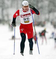 Langrenn , 19. januar 2006 , NM , norske mesterskap nordiske grener , Kongsberg , Heistadmoen<br /> Svein Tore Sinnes