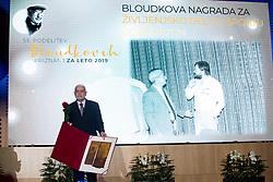 Boris Kutin at 55th Annual Awards of Stanko Bloudek for sports achievements in Slovenia in year 2018 on February 4, 2020 in Brdo Congress Center, Kranj , Slovenia. Photo by Grega Valancic / Sportida