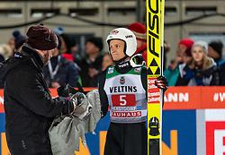 30.12.2018, Schattenbergschanze, Oberstdorf, GER, FIS Weltcup Skisprung, Vierschanzentournee, Oberstdorf, 2. Wertungsdurchgang, im Bild Daniel Huber (AUT) // Daniel Huber of Austria during his 2nd Competition Jump for the Four Hills Tournament of FIS Ski Jumping World Cup at the Schattenbergschanze in Oberstdorf, Germany on 2018/12/30. EXPA Pictures © 2018, PhotoCredit: EXPA/ Peter Rinderer