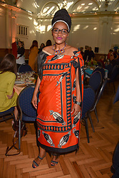 Patricia Dlamini at the ASAP VIP lunch (African Solutions To African Problems) held at the RHS Lindley Hall, 80 Vincent Square, London, England. 10 October 2018.