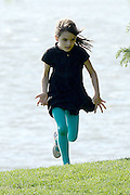 May 30, 2014 - New York, NY, USA - <br /> <br /> Katie Holmes and Suri Cruise play in the park in New York City<br /> ©Exclusivepix