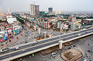 Aerial cityscape of My Dinh, Hanoi, Vietnam, Southeast Asia