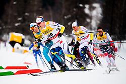 January 6, 2018 - Val Di Fiemme, ITALY - 180106 Oskar Svensson of Sweden competes in men's 15km mass start classic technique during Tour de Ski on January 6, 2018 in Val di Fiemme..Photo: Jon Olav Nesvold / BILDBYRN / kod JE / 160123 (Credit Image: © Jon Olav Nesvold/Bildbyran via ZUMA Wire)