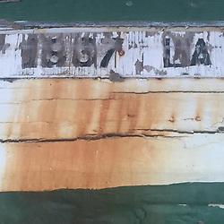 Dilapidated Boat Detail, China Camp State Park, San Rafael, California, US
