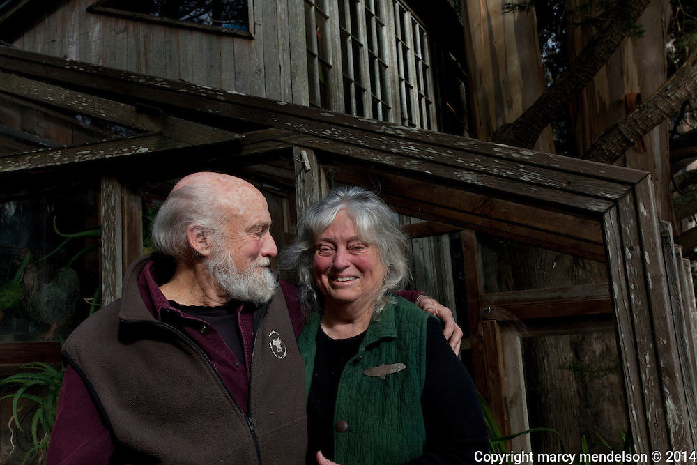 Ed & Marilyn Stiles, residents of Druid Heights for over 47 years, hold life-long leases on the property.  Ed's partnership with Roger Somers helped build an 'unintentional community' of free-thinkers, artists and bohemians that lasted decades.  The Stiles raised two children at Druid Heights and has outlived many of the other more hedonistic residents.