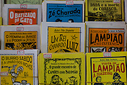 "Fortaleza_CE, Brasil.<br /> <br /> Literatura de Cordel em Fortaleza, Ceara.<br /> <br /> Cordel literature (Portuguese for ""string literature"") are popular and inexpensively printed booklets or pamphlets containing folk novels, poems and songs, which are produced and sold in fairs and by sidestreet vendors in the northeast of Brazil.<br /> <br /> Foto: RODRIGO LIMA / NITRO"