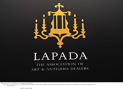 Branding at a preview evening of the annual London LAPADA (The Association of Art & Antiques Dealers) antiques Fair held in Berkeley Square, London on 21st September 2010. *** Local Caption *** Image free to use for 1 year from image capture date as long as image is used in context with story the image was taken.  If in doubt contact us - info@donfeatures.com<br /> Branding at a preview evening of the annual London LAPADA (The Association of Art & Antiques Dealers) antiques Fair held in Berkeley Square, London on 21st September 2010.