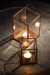 Copper lanterns