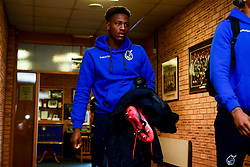 Timmy Abraham of Bristol Rovers arrives at Adam's Park prior to kick off - Mandatory by-line: Ryan Hiscott/JMP - 08/02/2020 - FOOTBALL - Adam's Park - High Wycombe, England - Wycombe Wanderers v Bristol Rovers - Sky Bet League One
