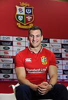Rugby Union - 2017 British & Irish Lions Tour to New Zealand - Squad & Captain Announcement Press Conference<br /> <br /> Lions Captain , Sam Warburton at the Hilton Syon Park, London.<br /> <br /> COLORSPORT/ANDREW COWIE