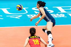 16-10-2018 JPN: World Championship Volleyball Women day 17, Nagoya<br /> Netherlands - China 1-3 / Ting Zhu #2 of China