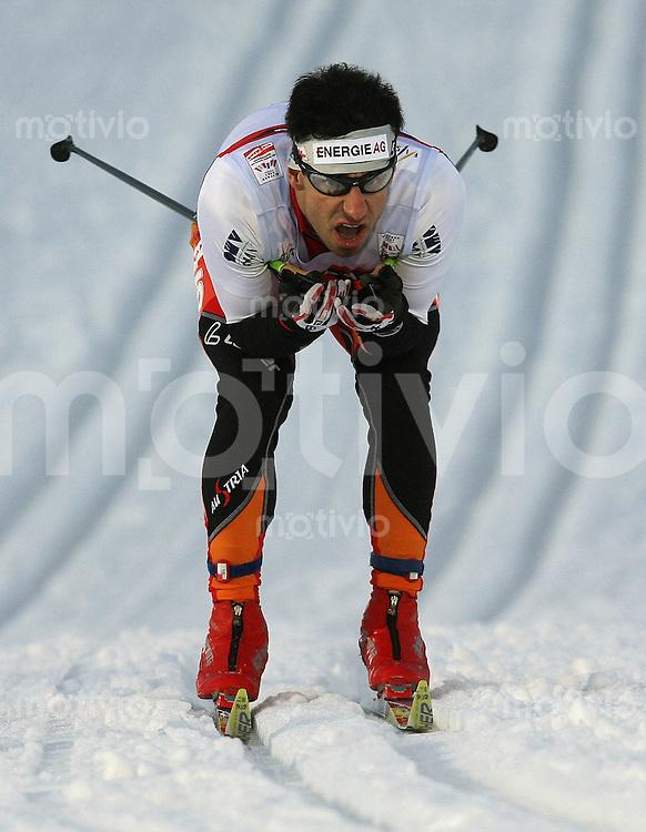 Sapporo , 220207 , Nordische Ski Weltmeisterschaft  Sprintrennen der Maenner ,  Martin STOCKINGER (AUT)