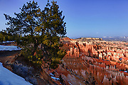 USA, Utah, Bryce Canyon National Park, Bryce Canyon from Sunset Point, DIgital Composite, HDR