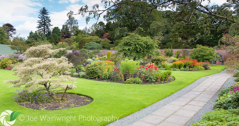 August in Holehird Gardens, Cumbria