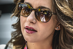 May 13, 2018 - Barcelona, Catalonia, Spain - Catalan opposition leader INES ARRIMADAS talks to Enric Millo, delegate of the Spanish Government in Catalonia, in the paddock prior the Spanish GP at Circuit de Barcelona - Catalunya (Credit Image: © Matthias Oesterle via ZUMA Wire)