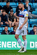 Rochdale  forward Aaron Wilbraham (18) during the EFL Sky Bet League 1 match between Gillingham and Rochdale at the MEMS Priestfield Stadium, Gillingham, England on 30 March 2019.