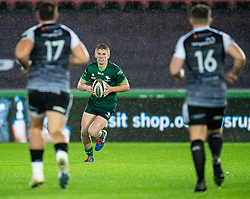 Conor Fitzgerald of Connacht<br /> <br /> Photographer Simon King/Replay Images<br /> <br /> Guinness PRO14 Round 6 - Ospreys v Connacht - Saturday 2nd November 2019 - Liberty Stadium - Swansea<br /> <br /> World Copyright © Replay Images . All rights reserved. info@replayimages.co.uk - http://replayimages.co.uk