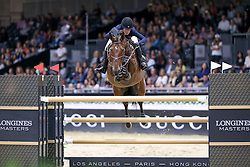 Springsteen Jessica, (USA), Davendy S <br /> Longines Masters Los Angeles 2015<br /> © Hippo Foto - Julien Counet<br /> 03/10/15