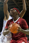 DALLAS, TX - NOVEMBER 25: Bobby Portis #10 of the Arkansas Razorbacks drives to the basket against the SMU Mustangs on November 25, 2014 at Moody Coliseum in Dallas, Texas.  (Photo by Cooper Neill/Getty Images) *** Local Caption *** Bobby Portis