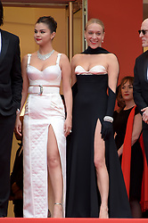 Selena Gomez, Chloe Sevigny attending the opening ceremony and premiere of The Dead Don't Die, during the 72nd Cannes Film Festival.
