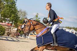 Morssinkhof Simon, BEL, Vivolta De Gree<br /> Belgisch Kampioenschap Jeugd Azelhof - Lier 2020<br /> © Hippo Foto - Dirk Caremans<br />  02/08/2020