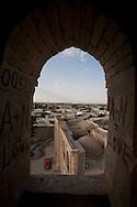 general view on the old city from the minaret of Gaukushan mosque  Boukhara  Ouzbekistan  .///.vue generale sur la vieille ville  depuis le minaret de la  Gaukushan    Boukara  Ouzbekistan .///.OUZB56331
