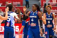 Deception France - Isabelle Yacoubou - 28.06.2015 - France / Serbie - Finale Championnat d'Europe feminin de Basket ball -Budapest<br /> Photo : Attila Volgyi / Icon Sport