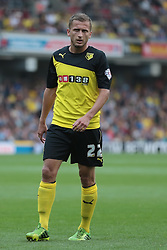 Watford's Almen Abdi  - Photo mandatory by-line: Nigel Pitts-Drake/JMP - Tel: Mobile: 07966 386802 25/08/2013 - SPORT - FOOTBALL -Vicarage Road Stadium - Watford -  Watford v Nottingham Forest - Sky Bet Championship