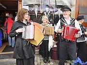 Bergen, Norway Three Street musicians