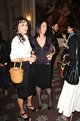 Left to right, MARIE HELVIN and MARY McCARTNEY at a dinner hosted by Vogue in honour of photographer David Bailey at Claridge's, Brook Street, London on 11th May 2010.