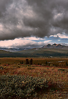 Late Summer Tatshenshini-Alsek Provincial Park Panorama from the Haines Highway. Three of Five.