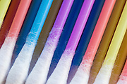 Colourful cotton swabs
