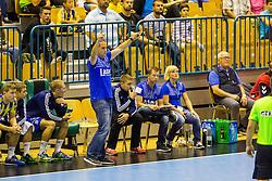 Branko Tamse, head coach of RK Celje Pivovarna Lasko during the handball match between RK Celje Pivovarna Lasko (SLO) and Prvo Plinarsko drustvo Zagreb (CRO) in 1st round, group B of EHF Champions League 2016/17 on September 24, 2016 in Arena Zlatorog, Celje, Slovenia. Photo by Ziga Zupan / Sportida