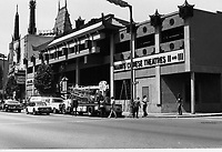 1979 Nearly complete construction of Mann's Chinese Theatres #2 & #3
