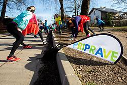 Priprave Ljubljanski Maraton, 15 Februar 2020, Ljubljana, Slovenia. Photo By Grega Valancic / Sportida