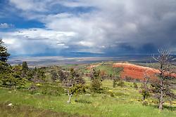 Bighorn Basin Thunderstorm, Powell Wyoming