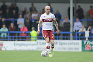 Bradford City midfielder Nicky Law (7)  during the EFL Sky Bet League 1 match between Rochdale and Bradford City at Spotland, Rochdale, England on 21 April 2018. Picture by Mark Pollitt.
