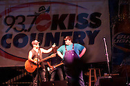 Trailer Choir, The JaneDear Gilrs and Jimmy Wayne performed during the 93.7 Kiss Country Acoustic Summer Concert Series at Woodward Park Amphitheater on August 11, 2010.