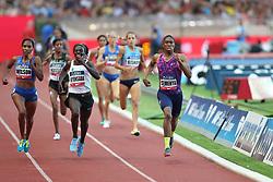 July 21, 2017 - Monaco, Monaco - Caster Semenya of South Africa runs to win  the 800m of the IAAF Diamond League Herculis meeting at the Stade Louis II in Monaco on July 17, 2017. (Credit Image: © Manuel Blondeau via ZUMA Wire)
